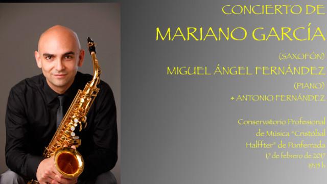 Fin de semana musical en el Conservatorio, conciertos de saxo y flautas y una clase magistral de clarinete