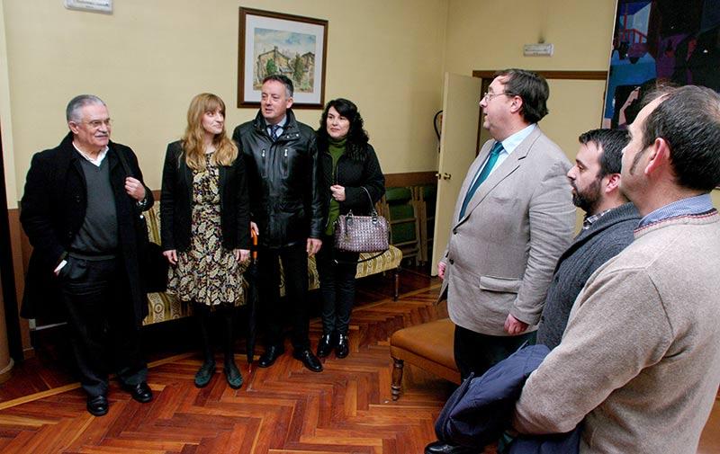 """Presentación del Congreso de la Crítica 2017 sobre """"El cuento en la literatura"""", en Villafranca del Bierzo. Foto: Raúl C."""