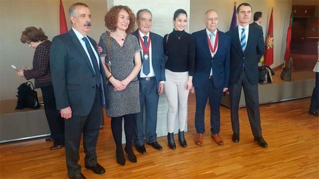 Ponferrada, presente en el XXXIV aniversario del Estatuto de Castilla y León que ha premiado a los emigrantes a América