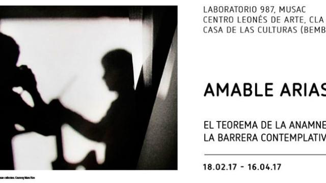 """La Casa de las Culturas presenta la muestra dedicada a Amable Arias """"El teorema de la anamnesis. La barrera contemplativa"""""""