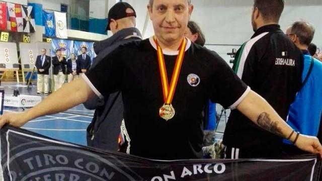 Fernando Barredo Campeón de España de Arco Compuesto Adaptado
