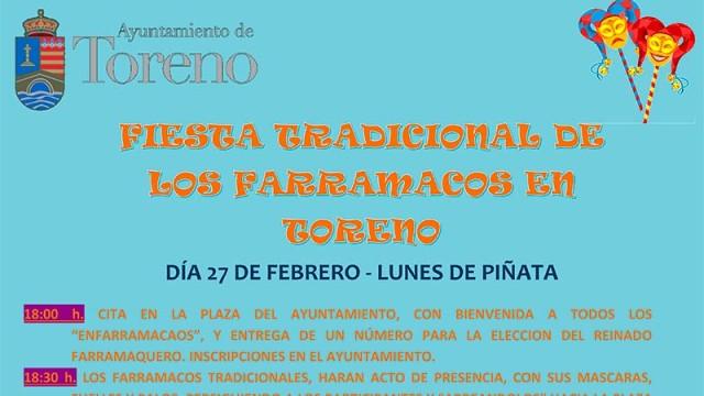 Toreno celebra su fiesta tradicional de los Farramacos