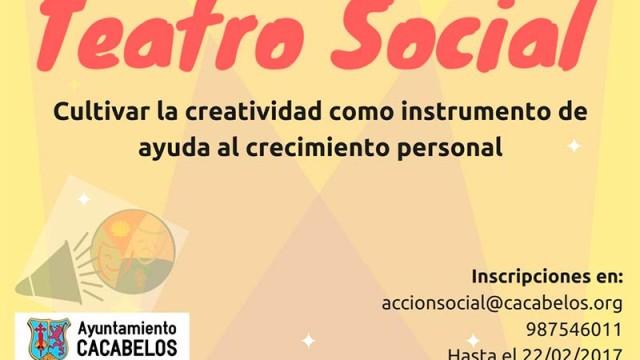 Cacabelos pone en marcha un proyecto de teatro social