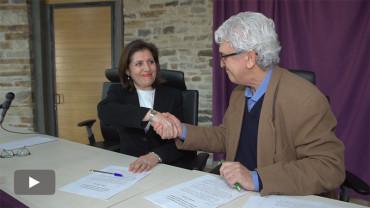 Asprona Bierzo renueva el convenio de colaboración con la bodegas de la D.O. Bierzo