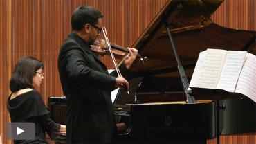 Patricio Gutiérrez y María Zisi dedican su recital en el Conservatorio a Brahms