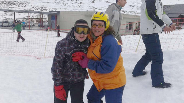 La deportista de Asproba Bierzo, Merce, participará en los Juegos Mundiales de Invierno Special Olympics