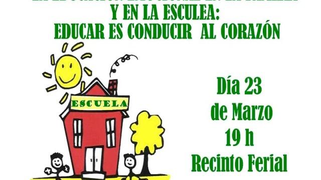 Charla de José María Toro en Camponaraya sobre la educación emocional en la familia y escuela