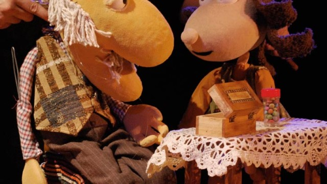 Tropo Teatro de Títeres presenta en Cubillos 'El abuelo Teo'