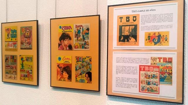 La Casa de la Cultura presenta la exposición 'El TBO cumple 100 años'