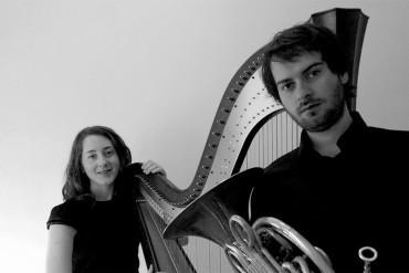 Concierto de arpa y trompa de Fremde Dúo en el Centro Cultural Río Selmo