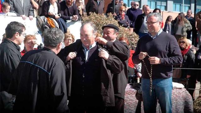 """José Manuel Otero nombrado en Guijuelo """"Matancero de Honor"""""""
