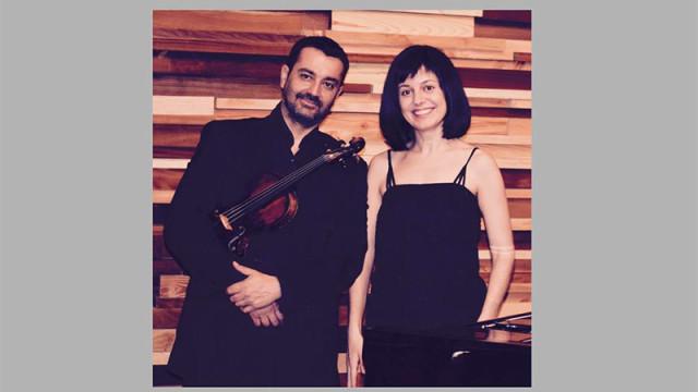 La Semana Cultural en el Conservatorio empieza con un concierto de violín y piano a cargo de Patricio Gutiérrez y María Zisi