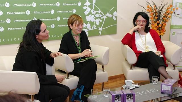 Pharmadus celebra el Día de la Mujer con un encuentro y la inauguración del 'Jardín de las emociones'