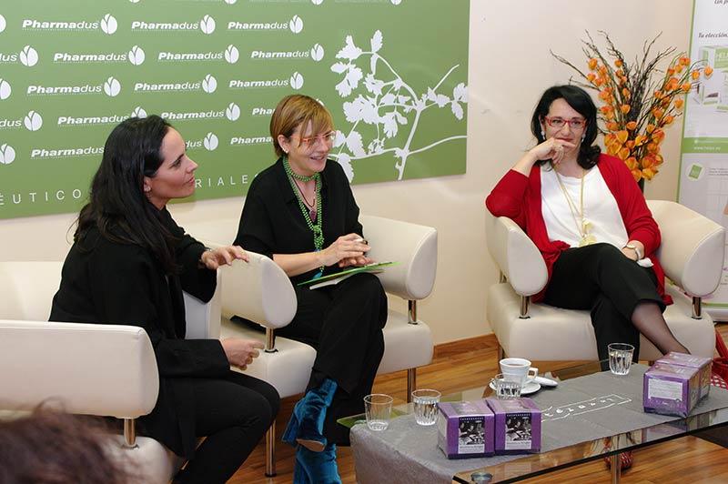 Eva Van Assche, Beatriz Escudero y Teresa Mata. Foto: Raúl C.