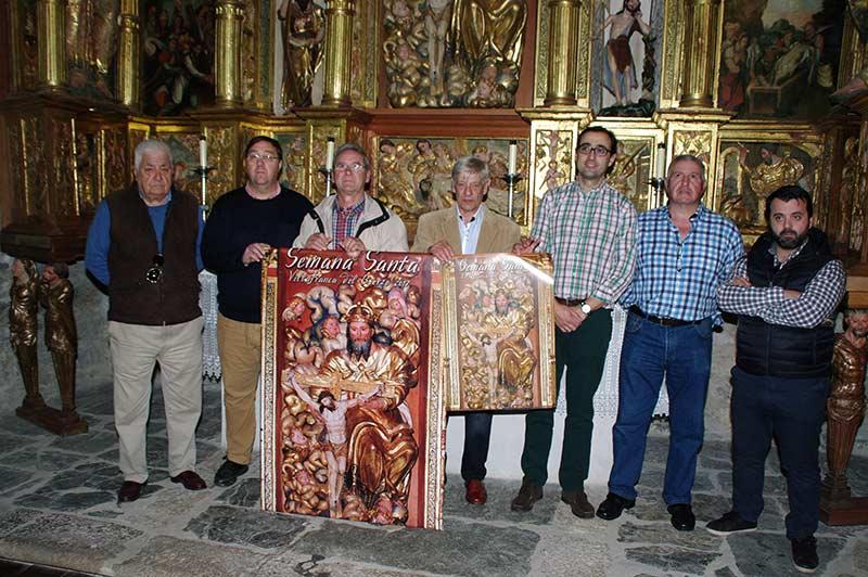 Presentación de la Semana Santa de Villafranca del Bierzo de 2017. Foto: Raúl C.