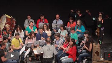 El Ensemble de Clarinetes de León estrena en el Bergidum 'John Clarineto agente secreto'