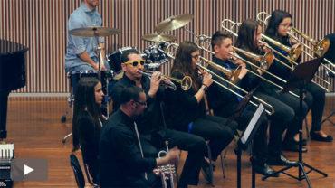 Concierto de la Brass Percussion Band del Conservatorio