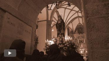 La Dolorosa abre las procesiones de Semana Santa en Ponferrada