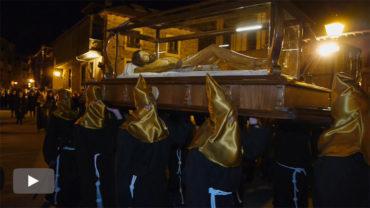 Villafranca celebra su procesión más emblemática, la del Entierro