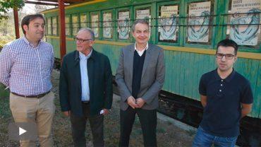 Zapatero defiende en el Bierzo la continuidad de CIUDEN como fundación y apoya el Ponfeblino