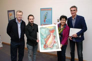 40 años en carteles de la Carpa y de historia pictórica berciana
