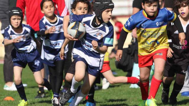 La Escuela Municipal de Rugby participa en la concentración base de Valladolid