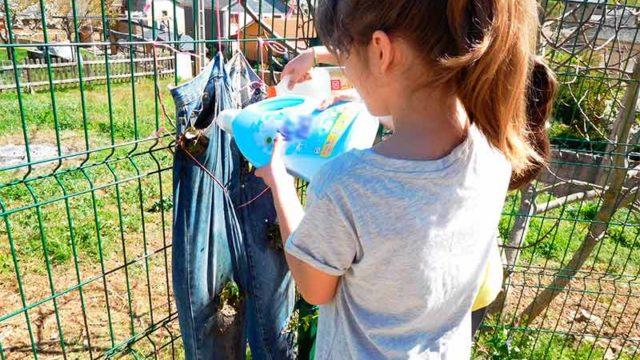 Cementos Cosmos patrocina un huerto escolar en el CRA de Quilós