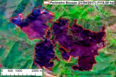 El ESTIA calcula que el incendio de la Tebaida ha afectado a 1.118, 59 hectáreas