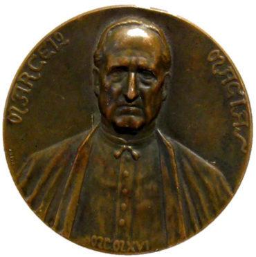 El Museo Alto Bierzo presenta una medalla conmemorativa de Marcelo Macías de 1916