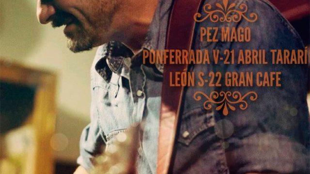 El cantautor Pez Mago presenta en la Sala Tararí 'Partitura de un silencio'