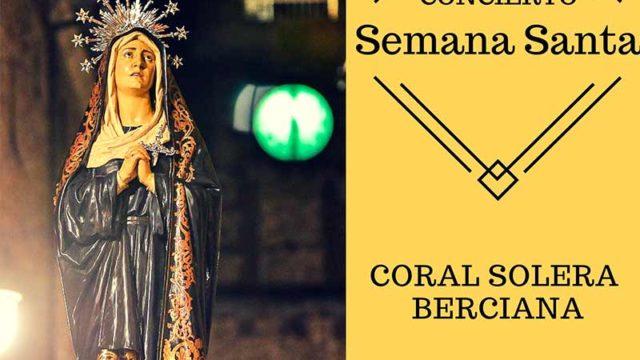 La coral Solera Berciana ofrece un concierto de Semana Santa en el Castillo