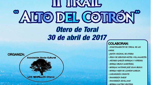Los Negrillos de Otero de Toral organiza el II Trial Alto del Cotrón