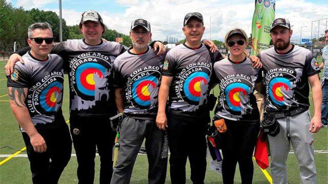 Seis arqueros ponferradinos participan en el Gran Premio de Madrid