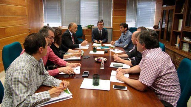 Arranz se reúne con la Mesa del Castaño para analizar las actuaciones ante la presencia de la avispilla