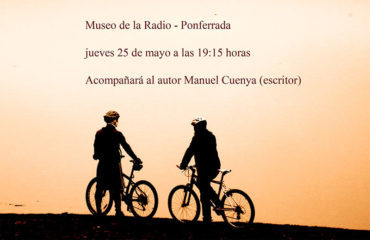 Abel Aparicio presenta en el Museo de la Radio el libro 'La ruta del Tuerto'