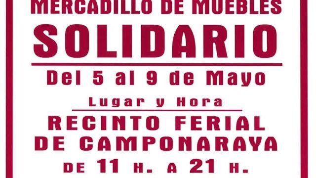 Mercadillo solidario de muebles en Camponaraya