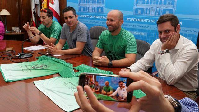 La X Tebaida Berciana se convierte en 'Marea verde' contra los incendios