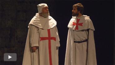 """Conde Gatón estrena """"Los Templarios"""", la tragedia de Raynouard sobre lo que ocurrió en el juicio a la Orden"""