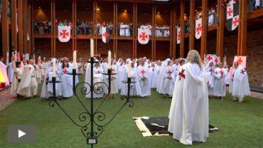 Nuevos escuderos y caballeros se incorporan a la Noche Templaria