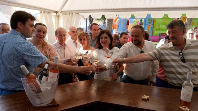 Arranca la 22ª Feria del Vino de Cacabelos