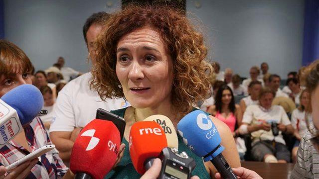 """Gloria Fernández Merayo: """"En dos años hemos transmitido sobre todo estabilidad"""""""