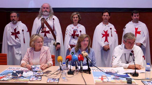 Vicente Fernández será el Gran Maestre Honorífico de la Noche Templaria 2017
