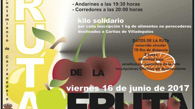 Carracedelo celebra el viernes la Ruta de la Fruta