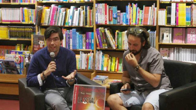 El escritor ponferradino Ruy Vega presenta 'La señal'