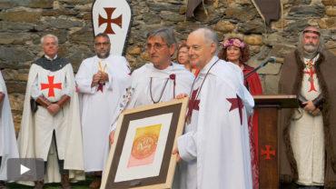 Vicente Fernández, Gran Maestre Honorífico de la Noche Templaria 2017