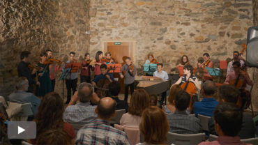 La Camerata Clásica estrena en Corteza de Encina 'Evocaciones', su primer disco