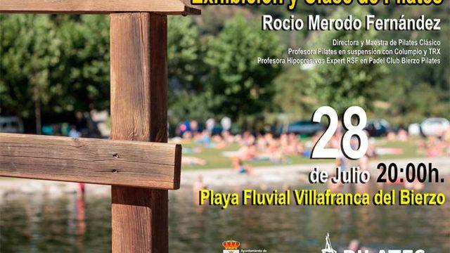 Exhibición y clase de pilates en Villafranca del Bierzo