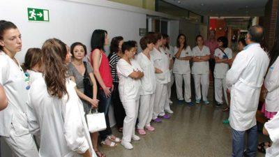 Las enfermeras del Hospital del Bierzo denuncian la reducción de personal en planta