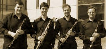 El cuarteto de clarinetes Ventum abre Corteza de Encina