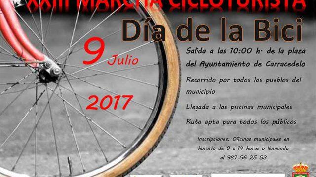 XXIII Marcha Cicloturista en Carracedelo